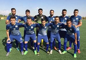 برگزاری دیدار دارایی گز در هفته نهم لیگ دسته سوم فوتبال کشور