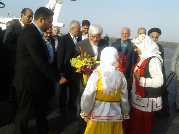 ورود اعضای کمیسیون آموزش و تحقیقات مجلس به گلستان