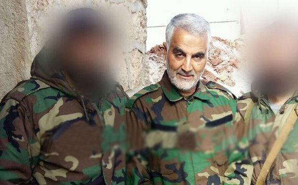 خطر شناسایی همراهان سردار سلیمانی در تصاویر تارشده + تصاویر