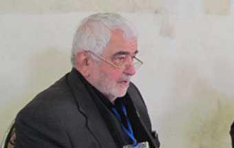 پیرغلام حسینی گرگانی در بستر بیماری