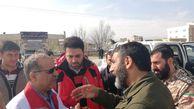 بازدید حاج حسین یکتا از مناطق سیل زده گلستان