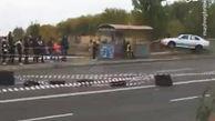 فیلم/ برخورد وحشتناک ماشین مسابقه با تماشاگر!