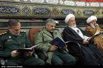 مراسم چهلمین روز شهادت سردار همدانی+تصاویر