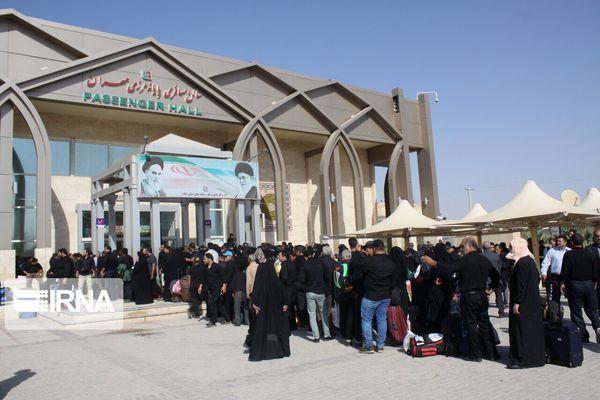 تردد زائران اربعین از مرز مهران شدت گرفت