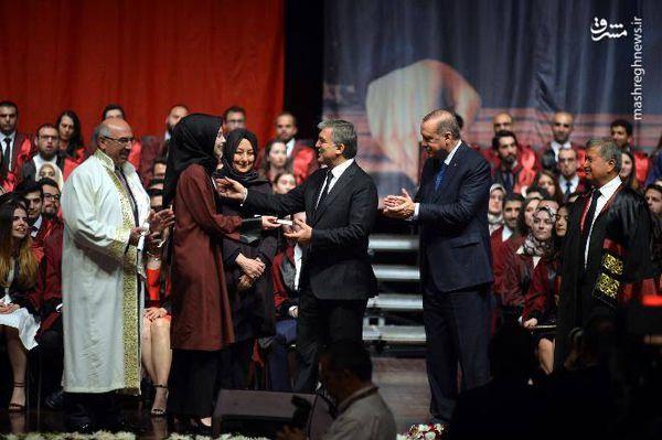 دختری که اردوغان را راضی کرد+ عکس