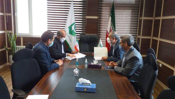 مدیر ستاد اقامه نماز استان گلستان با مدیرکل دیوان محاسبات دیدار و گفتگو کرد