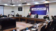 دیدار استاندار گلستان با دبیر قرارگاه محرومیتزدایی سپاه