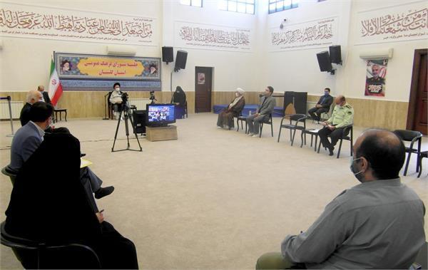نخستین جلسه شورای فرهنگ عمومی استان گلستان در سال 1400 تشکیل شد