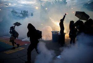 فیلم/ رونمایی پلیس آمریکا از گازهای شیمیایی!