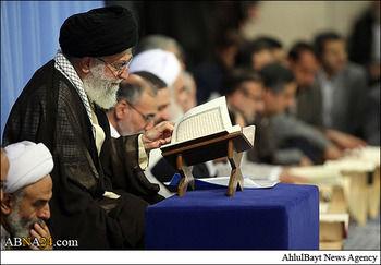 رهبر انقلاب: قاری قرآن باید به مفاهیم آیات از عمق جان باور داشته باشد