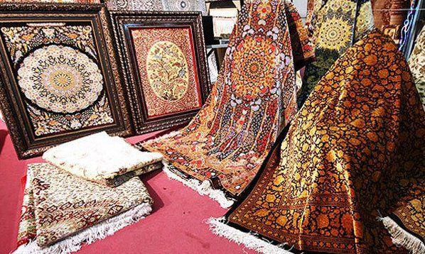 صادرات ۹۶۰۰ مترمربع فرش از استان