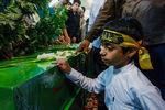 تشییع پیکر هفت شهید مدافع حرم +عکس