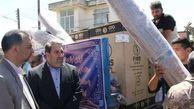 توزیع ۸۰۰ بسته لوازم خانگی بین سیلزدگان استان