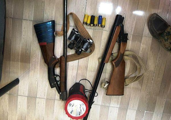 شکارچی غیرمجاز در پارک ملی گلستان دستگیر شد/ فرار شکارچی دیگر + تصاویر