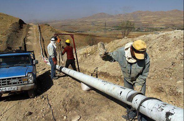 گاز رسانی به ۳ روستا در گلستان