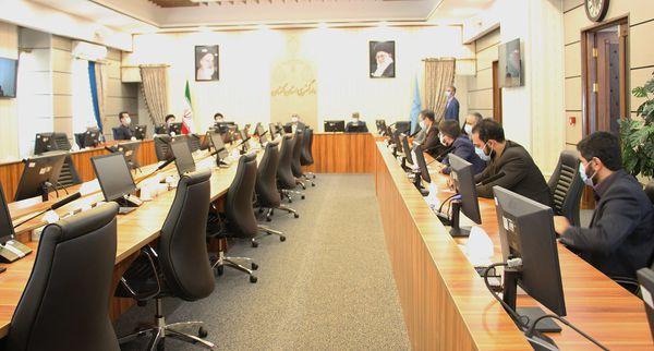 جلسه آشنایی مدیران جدید با حوزه های قضایی که به آنان سپرده می شود