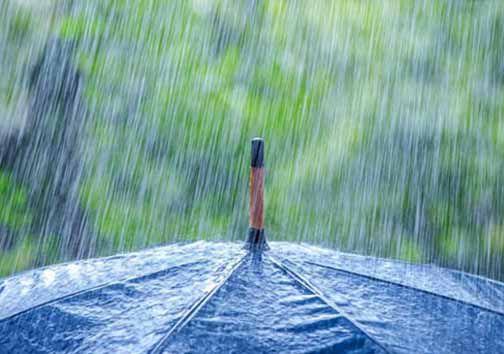 مسافران گلستان مراقب باشند /احتمال وقوع رعد و برق و باران شدید