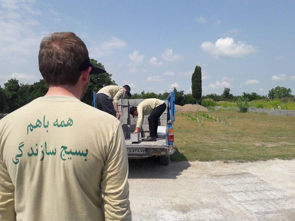 دانشجویان جهادگر گلستانی در پویش من جهادی ام شرکت میکنند