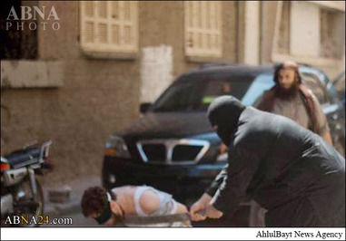 اعدام فجیع دیگر از داعش +تصاویر +18