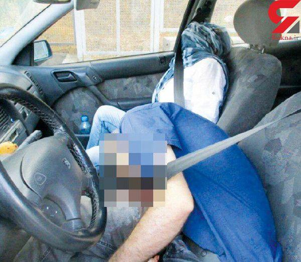 مردی که همسرش را کشت و بعد خودکشی کرد! + عکس