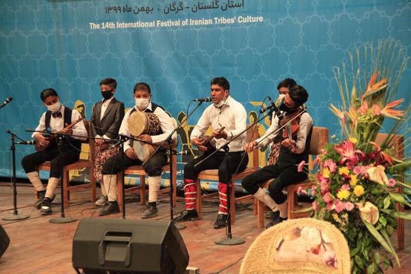 چهاردهمین جشنواره اقوام ایران زمین در گرگان به پایان رسید