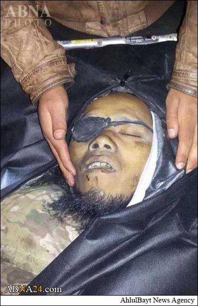 هلاکت تروریست یک چشم جبهة النصرة + عکس