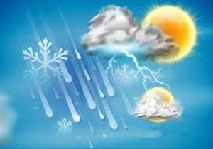 پیش بینی دمای هوای استان