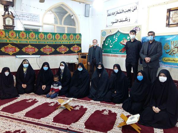 محفل انس با قرآن در شهرستان گرگان برگزار شد