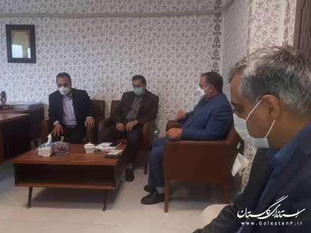 وضعیت گازرسانی در شرق استان گلستان مورد بررسی قرار گرفت