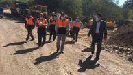 بازدید میدانی فرماندار کلاله از روند مرمت و بهسازی خسارات سیل اخیر در شهرستان