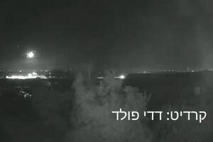 فیلم/ شلیک دو راکت به شهرک صهیونیستنشین