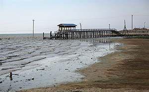 آب خلیج گرگان به 80 سانت رسیده است