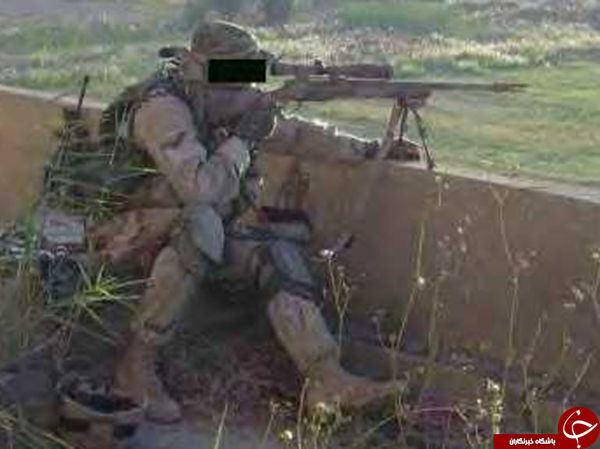 تکتیرانداز افسانهای قاتل جان داعشیها شد +تصاویر