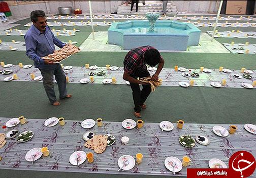 ارادت مردم گلستان و آداب و رسوم آنها در ماه مهمانی خدا