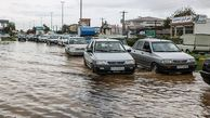 غافلگیری دوباره مسئولان گلستانی در پی بارشهای پاییزی؛ آبگرفتگی معابر و تعطیلی برخی مدارس
