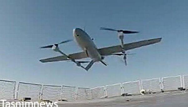 فیلم/ رونمایی ارتش از پهپاد عمود پرواز