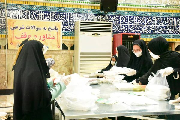 توزیع ۲۳ هزار پرس غذای گرم بین نیازمندان شرق گلستان