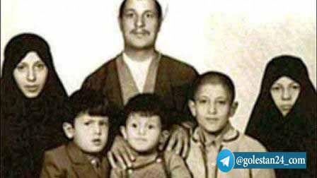 عکس/ 5 فرزند هاشمی یک روز پس از درگذشت او