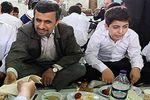 حاشیه های ضیافت افطاری احمدی نژاد