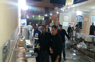 خدمت رسانی شرکت آبفار گلستان به زوار اربعین حسینی