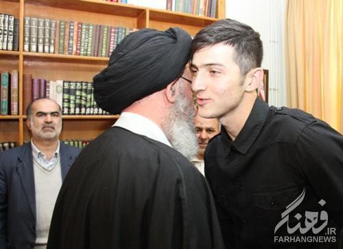 تصاویر/ دیدار سردار آزمون با آیتالله نورمفیدی