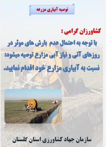 زمینهای کشاورزی تشنه آبیاری