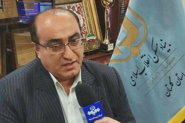 ۱۳۰۰۰ تن سیمان رایگان بین سیل زدگان گلستان توزیع شد