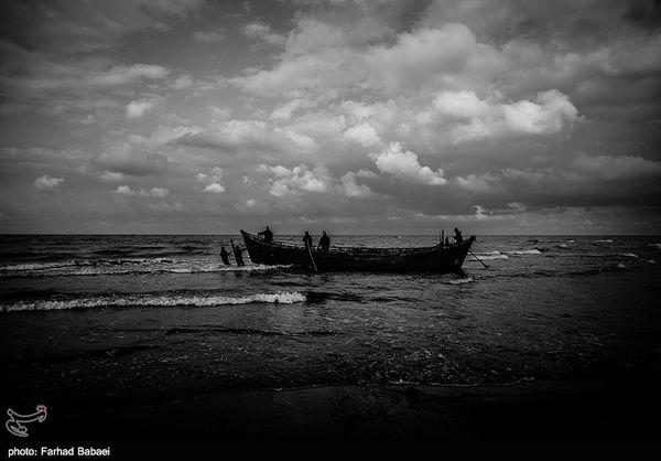 دستگیری صیادان غیرمجاز دریای خزر
