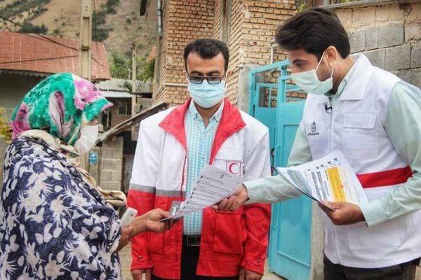 استقرار تیم های بهداشت و درمان اضطراری هلال احمر گلستان در مناطق زلزله زده رامیان