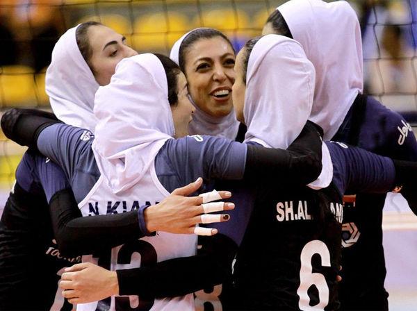 درخشش بانوان گلستان در والیبال جام کنفدراسیون آسیا