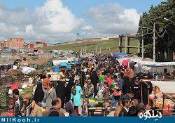 آخرین جمعه بازار سال 94 شهرستان گالیکش / گزارش تصویری