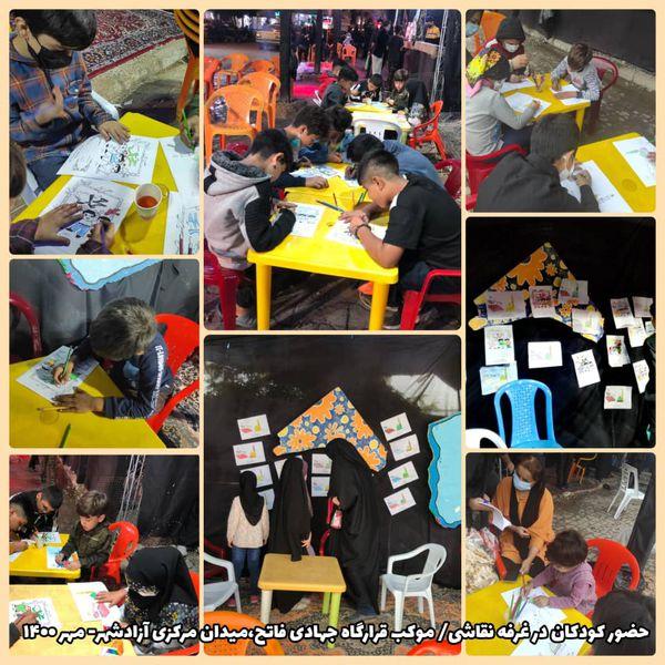 گزارش تصویری موکب قرارگاه جهادی مردمی فاتح هیات رزمندگان اسلام آزادشهر