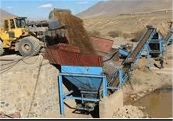 توقف ۱۵ فقره برداشت غیرمجاز شن و ماسه در استان گلستان