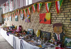 برگزاری نمایشگاه دست ساخته های دانش آموزان در گنبد